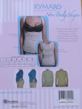 Hot sale Brand new, Kymaro New Body Shaper Top shaperwear, shaper shirt, undershirt, bare or Bl