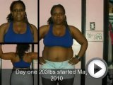 Myosha Kiki P90X Transformation !!